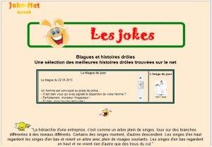 Blagues et histoires drôles... version mobile